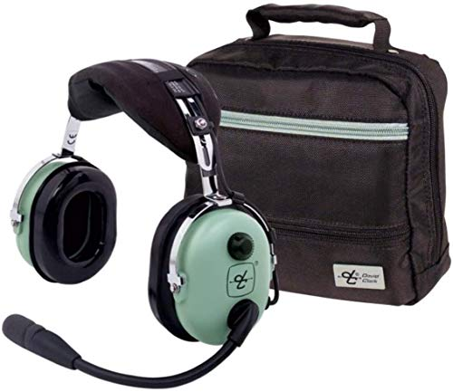 David Clark H10-13.4 Headset w/David Clark Headset Bag