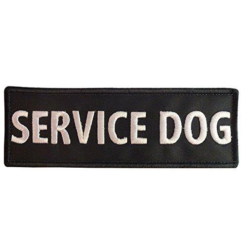 2AFTER1 K9 Harness Service Dog K-9 Nylon Fastener Patch