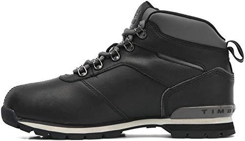 Timberland Herren Euro Hiker LTH Klassische Stiefel, Schwarz (Black 6669a), 44.5 EU