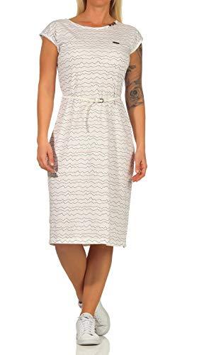 alife & kickin Damska sukienka Melliak, biały, M