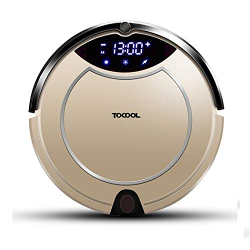 Lowest Price! RUIXFRV Wireless Robot Vacuum Cleaner, Great for Pets, Rubber Brushes, Picks up Hair W...