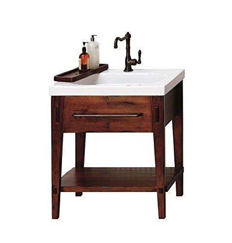 RONBOW Portland 30 inch Bathroom Vanity Set in Rustic Pine, Bathroom Vanity -