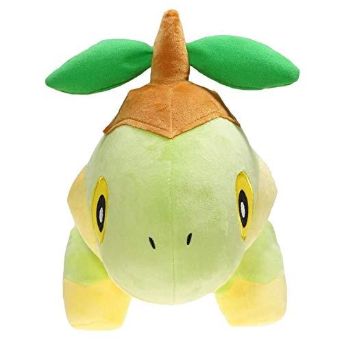 Darenbp 12 pollici della peluche Giocattoli Pokemon Erba piantina della tartaruga della bambola della peluche di legno della tartaruga Terrapin bambola giocattolo infanzia for i regali di Natale dei b