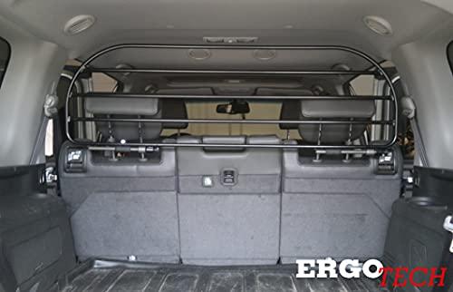 ERGOTECH Trenngitter Hundegitter Schutzgitter kompatibel mit Nissan Pathfinder, RDA100HBG-XL, für Hunde und Gepäck. Sicher, garantiert!