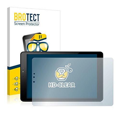 BROTECT Schutzfolie kompatibel mit Allview Viva H1002 LTE (2 Stück) klare Bildschirmschutz-Folie