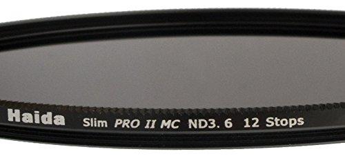 Haida Slim Extrem ND Graufilter PRO II MC (mehrschichtvergütet) ND3.6 (4000x) 82mm - inkl. Cap mit Innengriff
