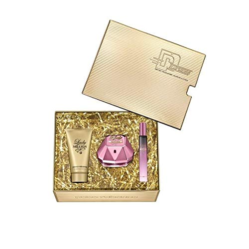 Paco Rabanne Lady Million EMPIRE 50ml Eau de Parfum + 75ml Body Lotion + 10ml Taschenspray