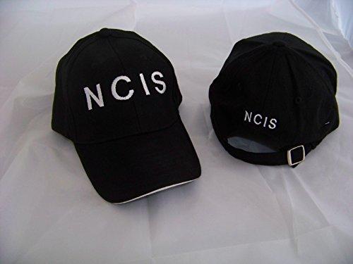 Navy CIS , NCIS Logo Hat Basecap Cap Mütze black / schwarz , NEU , Logo aufgestickt , Kostüm , Karnevall , Fasching