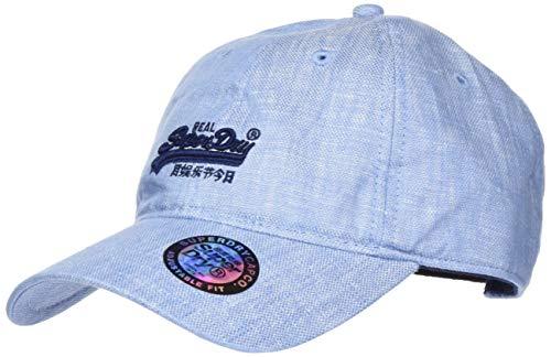 Superdry Orange Label Cap Gorra de béisbol, Azul (China...