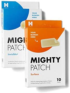 Mighty Patch Invisible Surface Bundle Acne Patches for Daytime and Larger Breakout Treatment product image