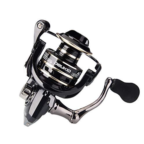 HZPXSB 13 + 1BB Carrete Pesca Spinning Relación 2000-6000 Sin Gap de Bobina de Metal Engranaje 5.2: 1 Carrete de Pesca de la Carpa Gear (Spool Capacity : 2000 Series)