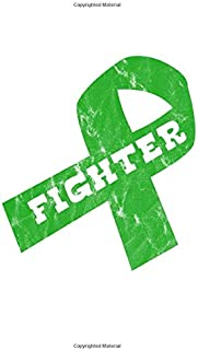Fighter: Green Ribbon Awareness Food Meal Planner Undated Journal 6