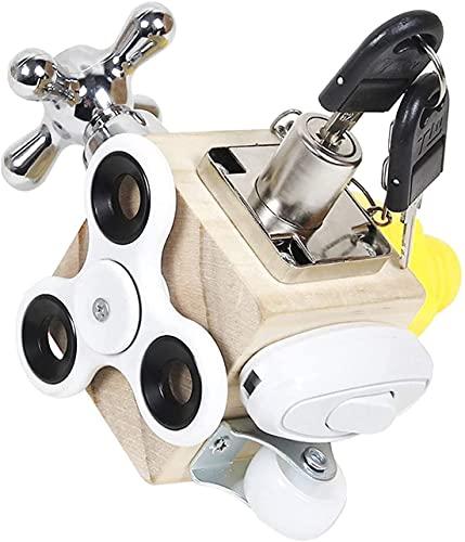 GESTAND Fidget Cube,Busy Cube Fidget Toys,Stresswürfel Entlastung Tragbares...