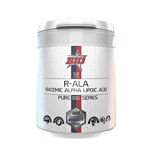 Pure BIG Series R-ALA (Racemic Alpha Lipoic Acid) - 60 caps.