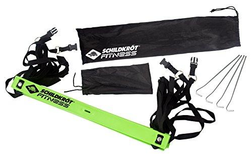 Schildkröt Fitness Koordinationsleiter, inklusive Heringen und Tasche, in 4-Farb Karton, 960071