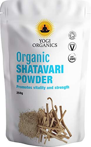 Polvo de Shatavari orgánico - Espárragos-Racemosus - 250g