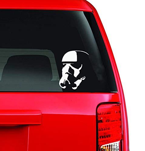 Carbon Aufkleber Auto Stormtrooper Familien-Autokörperaufkleber-Fenster-Tür-Abziehbild lustig für Auto-Laptop-Fenster-Aufkleber