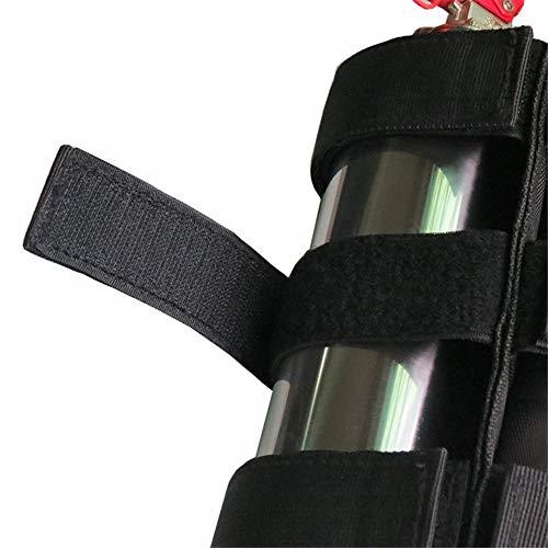 Überrollbügel Verstellbarer Überrollbügel Feuerlöscherhalter Befestigungsgurt für Jeeps Jeep Wrangler, Unlimited, CJ, JK, TJ, Rubicon, Sahara, Sport