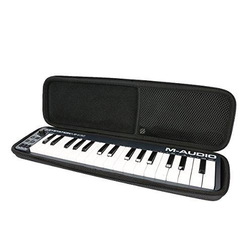 Khanka Hart Tasche Schutzhülle Für M-Audio Keystation Mini 32 mk2 II/ MK3 - Kompakter 32 Tasten USB MIDi Keyboard Controller.