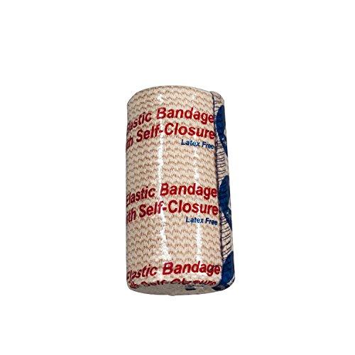 Dynarex Elastic Bandage with Self Closure Strip, 10 Count/4 x 5 Yards