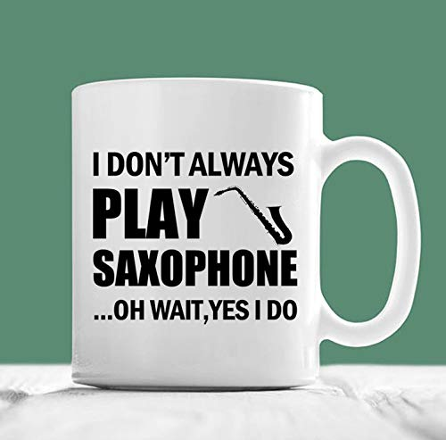 Ad4ssdu4 saxofoon beker Ich Games nicht immer saxofoon Oh Wacht ja ik tue saxofoon koffiekopjes-geschenk voor saxofoon-speler-saxofoon geschenken