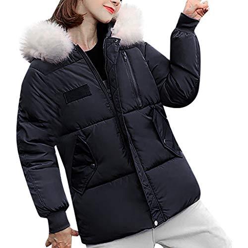 Sale!! Qisc-Women Womens Warm Winter Puffer Jacket Lightweight Fashion Hooded Parka Coat