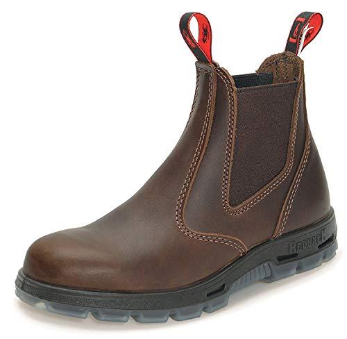 Redback Boots Chaussures Jarrah Boots en Cuir Marron Femme 45 Brown