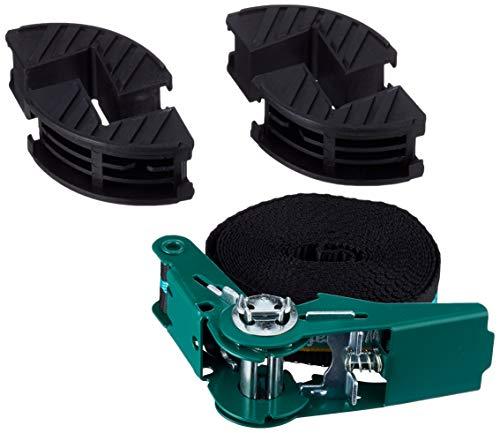 Wolfcraft 3441000 1 Ratschen-Bandspanner mit 4 Backen 4 m