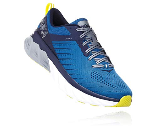 HOKA ONE One Arahi 3 Deportivas Hommes Azul/Verde - 42 - Running/Trail