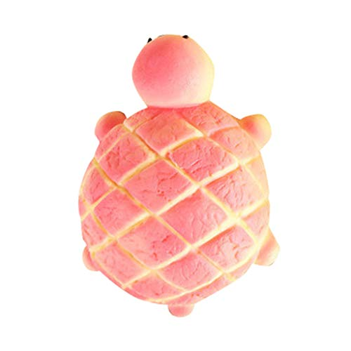 Xuways Simulation Turtle Bread Squishy Toys Party Favors for Kids,Ultra Soft Doll Kawaii Sweet Scented Squishies Slow Rising Kids Toy for Autism, ADHD and Stress Relief