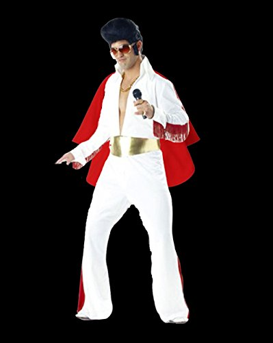 Rubber Johnnies TM Elvis Traje King of Rock 'n' Roll Disfraz