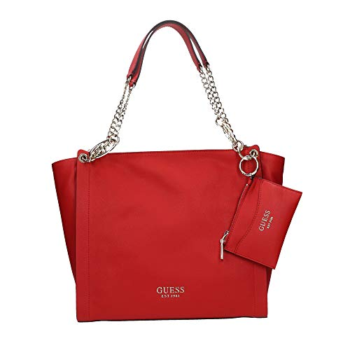Guess Borsa shopping Tara tote con pochette rosso donna BS20GU62