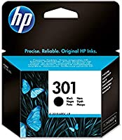 HP 301 CH561EE, Cartucho Original de Tinta Negro , compatible con impresoras de inyección de tinta HP DeskJet 1050,...