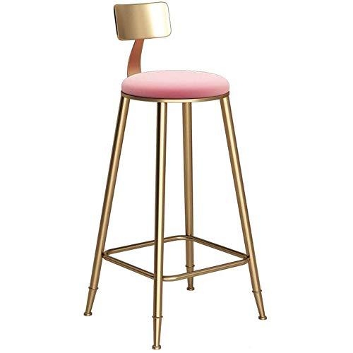 YZT QUEEN Barstoel, industriële stijl smeedijzer multifunctionele home bar kruk Hotel rugleuning eetkamerstoel hoge kruk, bar stoel lounge stoel