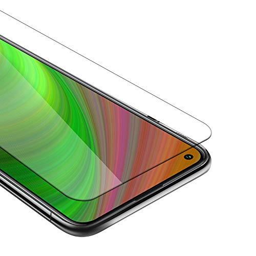 Cadorabo Película Protectora Compatible con OnePlus 8T en Transparencia ELEVADA - Vidrio Templado (Tempered) Cristal Antibalas Compatible 3D con Dureza 9H