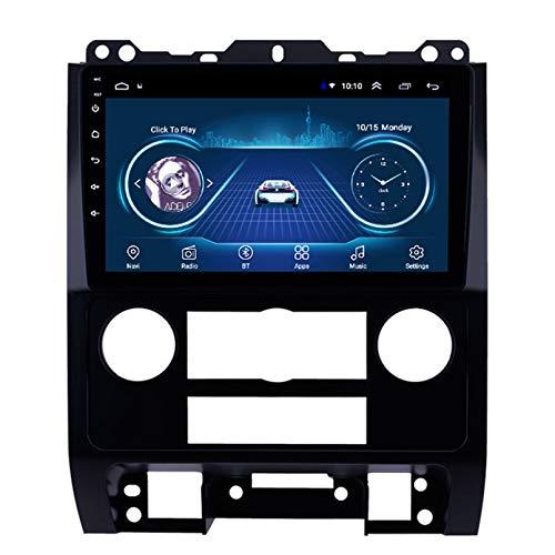 Android 10.0 8 Core Car stereo radio de navegación por satélite FM AM Autoradio 2.5D Pantalla táctil para Ford ESCAPE 2007-2012 Navegador GPS Bluetooth WIFI GPS USB SD player(Color:WIFI 2G+32G)