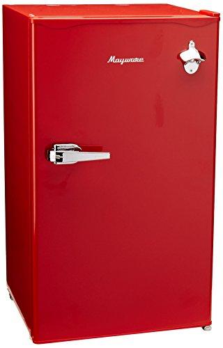 Mayware frigobar retro color rojo 3.17 piezas