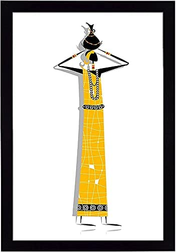 Anjani Ritwika's Abstract Wall Art of Women Figurine Max 88% OFF Super special price in M Tribal