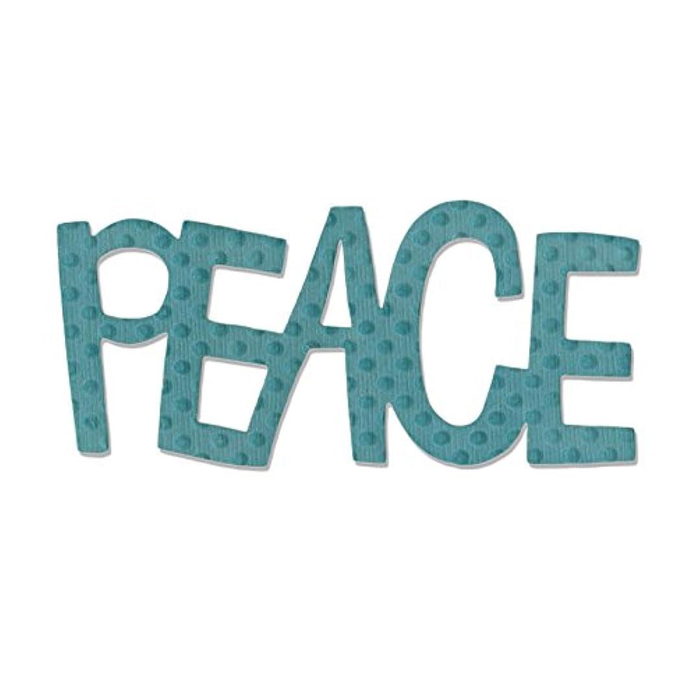 Sizzix 2 SA Originals Die Peace Art
