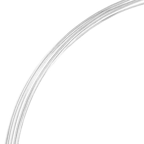 5ft .925 Sterling Silver Round Wire 22ga Dead Soft 22 Gauge 0.6mm / Jewelry Making wire/Findings