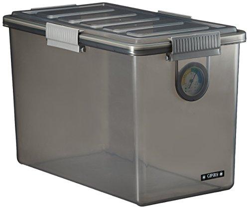 ナカバヤシ キャパティ ドライボックス 防湿庫 カメラ保管 20L クリアブラック DB-S1-CD