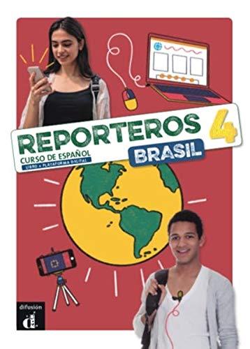 Reporteros Brasil - Libro del Alumno 4