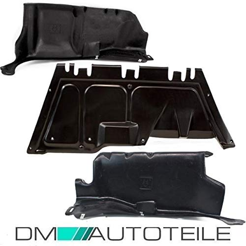 DM Autoteile Golf 4 Bora A3 Unterbodenschutz Unterfahrschutz Rechts Links Mitte Benziner