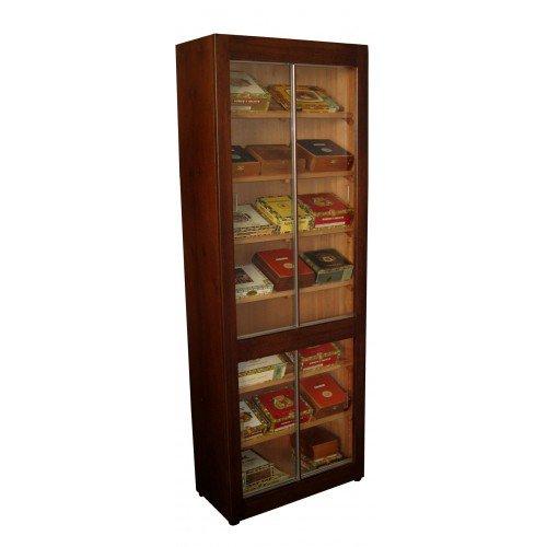 Best Humidors - Super Tower 100% Cigar Cabinet Humidor - 100% Cedar 26' X 72' X 12.5' - Made in USA - FREE SHIPPING
