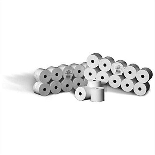 Rotomar AEE0570040012B Rotolo Calcolatrice, Pura Cellulosa, 5.7 cm, 40M, 12 mm, 64 mm, Confezione da 10