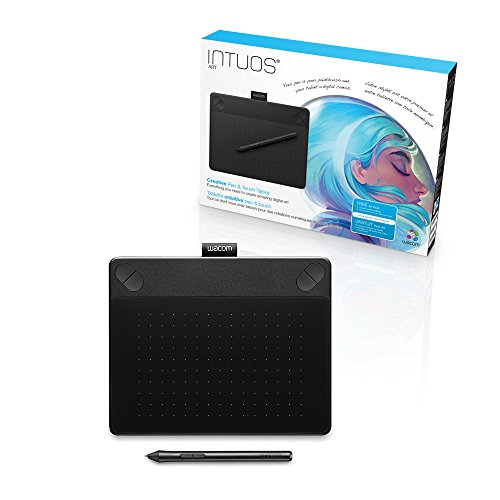 Wacom Intuos Art Small Pen and Touch (Old Version), Black
