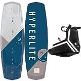 Hyperlite Wakeboard Package Vapor Wakeboard and Agent Wakeboard Bindings (139)