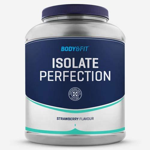 Body & FIT Isolate perfezionate – Isolato di Whey Protein polvere – Vasetto da 2 kg – Gusto: fragola