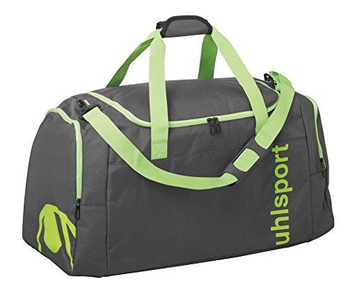 UHL Essential 2.0 Sports Sporttasche, 45 cm, 50 liters, Mehrfarbig (Anthracita/Fluo Verde)