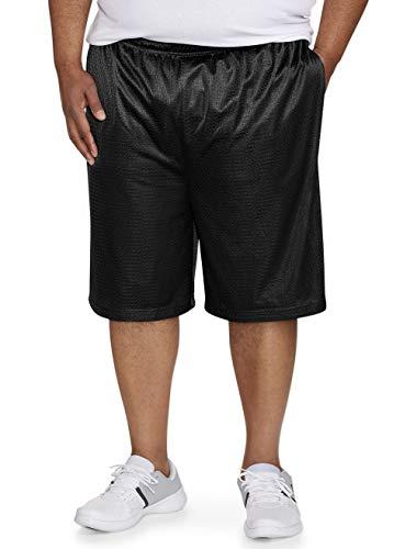 Southpole Mens Big and Tall Basic Basketball Mesh Shorts